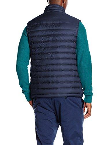 Hilfiger LW Vest pt para Iris Azul Black Hombre Tommy Abrigo Down HdwqdPF