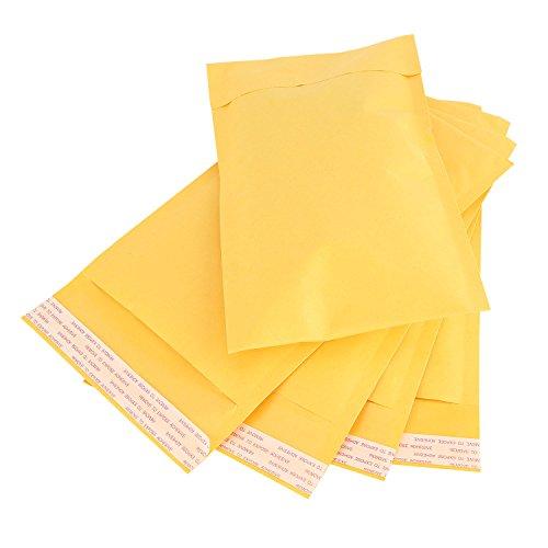 Adaman #CD Kraft Bubble Mailers, Sealing Padded Envelopes, 25pc 7.25x8