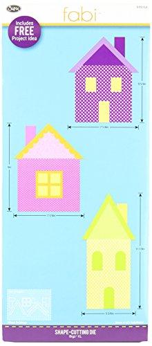 Sizzix Bigz Die, Village Buildings by E.L. Smith (Fabi Edition)