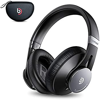 Bomaker Active Noise Cancelling Headphones with Waterproof Case