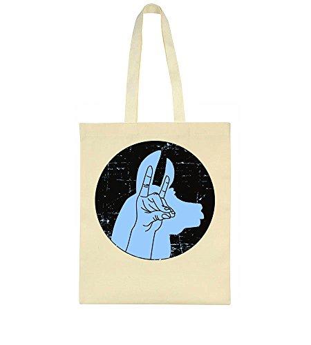 Made Bag Llama Hand Tote Silhouette BxggST