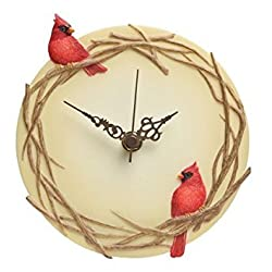 Cardinals Wall Clock - Ibis & Orchid Design Collection