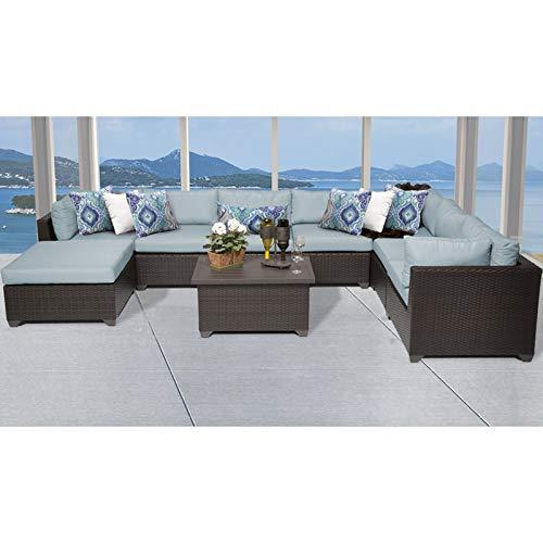 Amazon.com: TK Classics Belle - Juego de muebles de mimbre ...