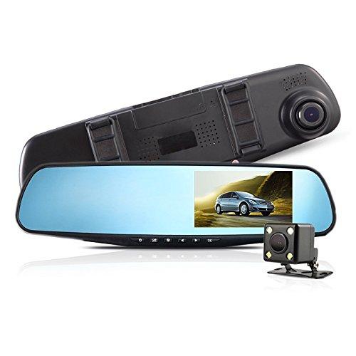 Vehicle Camera in the Car Black Box Dvrs Rearview Mirror Vid