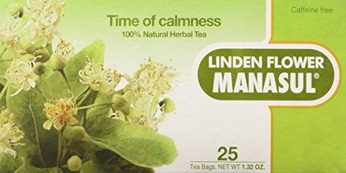 - Manasul Linden Flower-Tila Flor Tea 25's Bio3