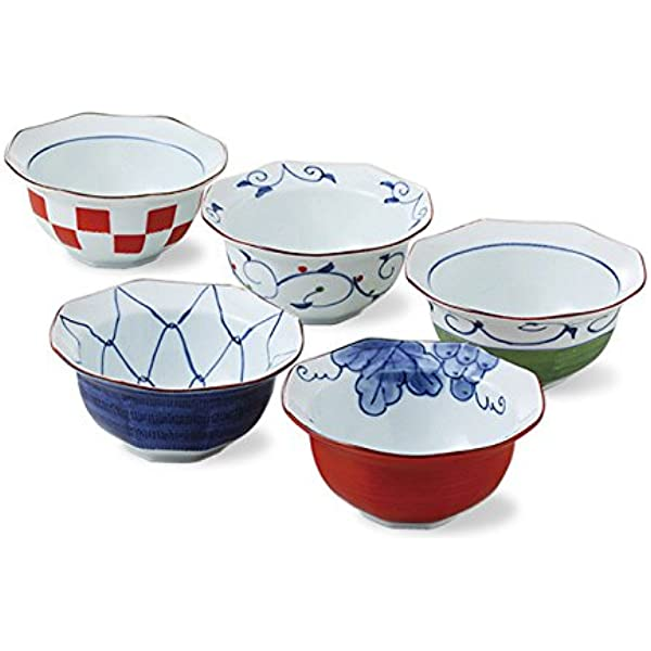 3 Count Pink Porcelain SaucePrep Bowls Cut Across Top Made in Japan with Sweet Rabbit Motif featuring a Unique Shape