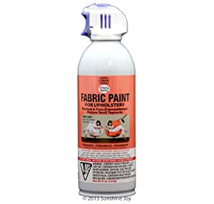 Simply Spray Upholstery Fabric Spray Paint 8 Oz Can Coral Peach