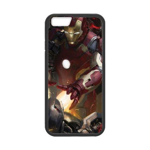 Avengers Age Of Ultron coque iPhone 6 4.7 Inch Housse téléphone Noir de couverture de cas coque EBDOBCKCO12345