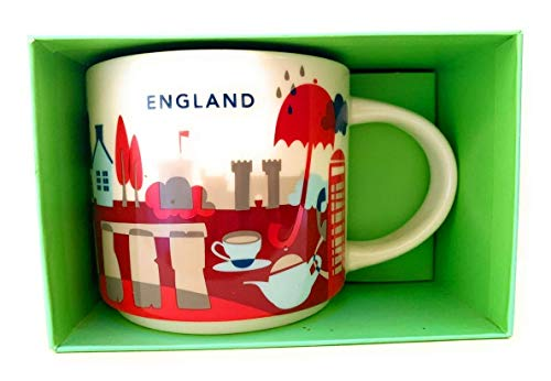 Starbucks You Are Here Collection England Ceramic Coffee ()