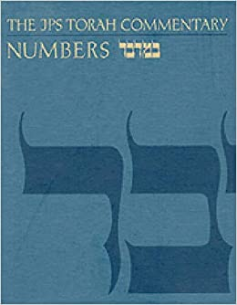 Torah Commentary: Numbers (JPS Torah Commentary): Amazon co