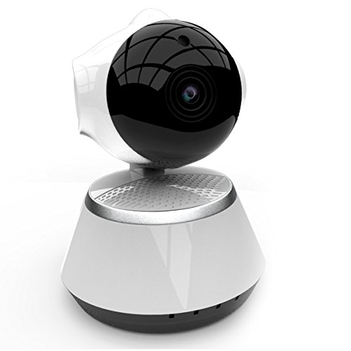 [New 2019 Upgraded] Wireless Security Camera - WiFi Home Surveillance 2.4G IP Remote Cameras for Baby/Pet/Nanny...