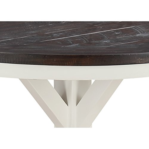 Revival Legs Finish Table (Mountain Retreat Dark Mocha Dining Table Dark Table Antique Wood Pedestal Dining Oak Oval Solid Claw Seats Svitlife)