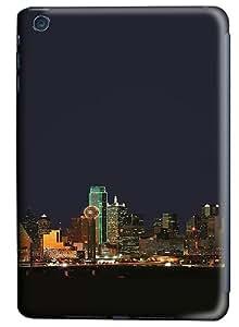 iPad Mini Case and Cover -Dallas Texas Night Skyline PC case Cover for iPad Mini