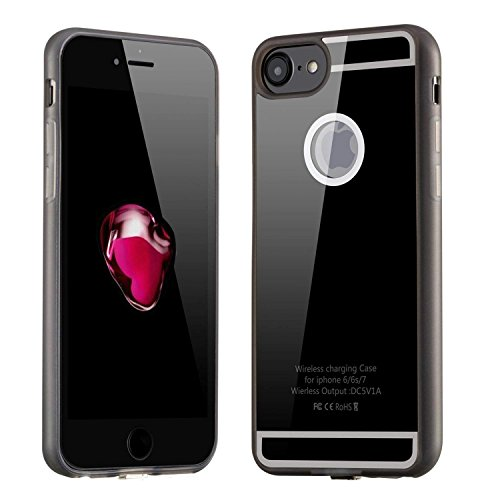 Wireless Charging Receiver Case for iPhone 6/6s and iPhone 7 1A Qi Wireless Charging Ultra Slim Design by Gorilla Gadgets
