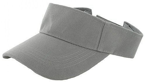 Easy-W Grey Outdoor Sport Hat Sun Cap Adjustable Velcro by Easy-W (Image #1)