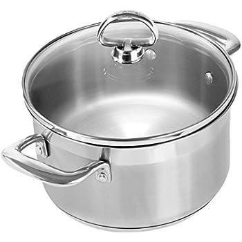 Amazon Com Chantal Slin32 160 Induction 21 Steel Soup Pot