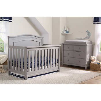 baby cache vienna lifetime crib ash gray rh baby u0026 childu0027s botanical photography. Black Bedroom Furniture Sets. Home Design Ideas