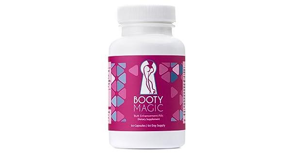 Amazon.com: Booty Magic Ultra Butt Enhancement Pills - 2 ...