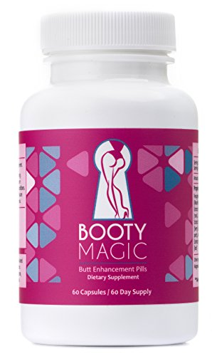 Booty Magic Ultra Butt Enhancement Pills - 2 Month Supply (Best Booty Enhancement Pills)