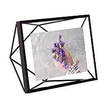 Umbra Prisma 4 x 15,24 cm foto de, negro