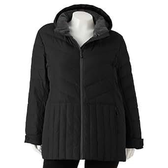Amazon.com: ZeroXposur Hooded Puffer Jacket - Women's Plus