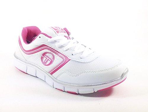 Chaussure/loisirs femme mode sport/5143 Sergio Tacchini Blanc Cassé - BIANCO FUXIA 0OwxvP