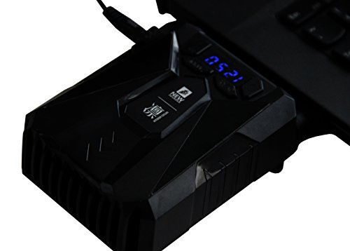 1STPLAYER Laptop Air Extracting Cooler with ITC, Visual Interactive Interface,double Ball Bearing(USB) by 1ST PLAYER