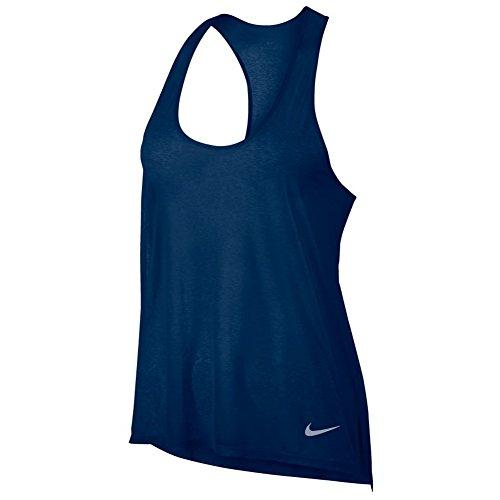 W Femmes Nike T Binary Nk Cool Brthe shirt Blue 6ZfqwxE