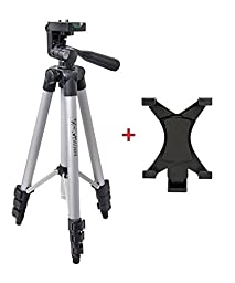 Professional Camera Tripod Monopod Mount Holder Stand for iPad Air 2 1/iPad 4 3 2 1