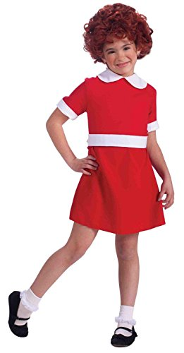 Orphan Costume For Annie Play (Forum Novelties Little Orphan Annie Child Costume, Small)