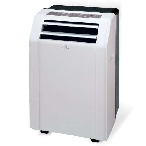 Commercial Cool WPAC10R 10,000 BTU Portable 3-in-1 AC/Dehumidifier/Fan with Remote, White