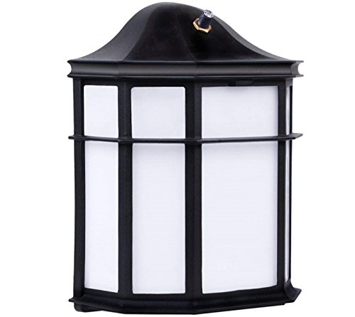 Outdoor Flush Mount Light With Photocell in US - 4