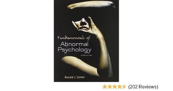 Amazon com: Fundamentals of Abnormal Psychology