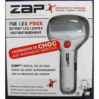 576ee4b187e55c ZAP  X peigne antipoux electrique  Amazon.fr  Hygiène et Soins du corps