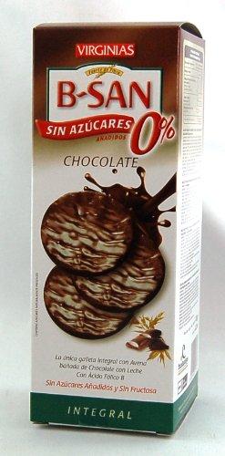 Galleta Virginias B-San Chocolate Con Almendras Sin Azúcares Añadidos 110 G