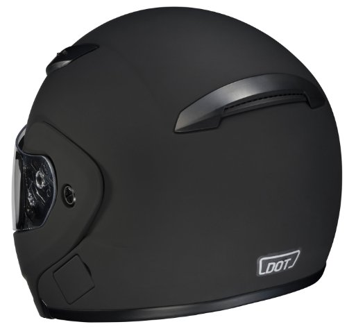 HJC CL-MAXBT II Bluetooth Modular Motorcycle Helmet (Matte Black, Large)