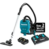 Makita XCV09PT 18V X2 LXT Lithium-Ion (36V) Brushless Cordless 1/2 Gallon HEPA Filter Backpack Dry Vacuum Kit (5.0Ah)