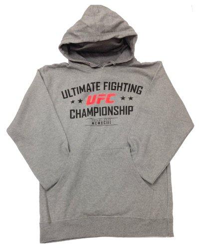UFC MCMXCIII Pullover Hoodie - 3XL - Gunmetal Heather