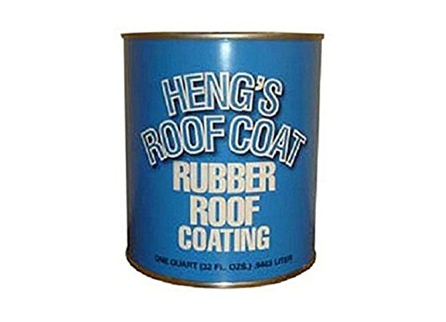 Hengs Industries 471284 Elastometric Roof Coating - 1 Gallon