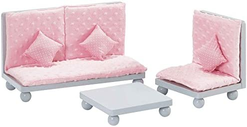 Olivias Little World - Princess 12 Doll Furniture  Soft Pink