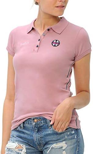 乗馬用品 SPOOKS リーナ ポロシャツ レディース ブラッシュピンク 乗馬 馬具