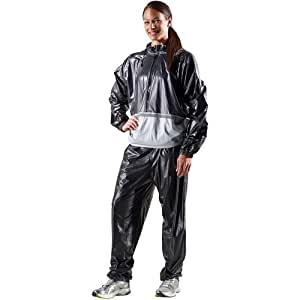 Amazon.com : Gold's Gym 05-0413GG Performance Sauna Suit ...