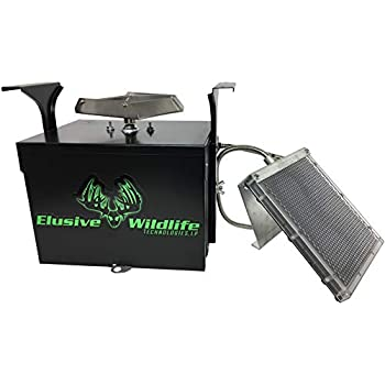 Image of Elusive Wildlife Premium 12 Volt Feeder Control Box with The Timer and Cabled Solar Panel Feeder Parts & Accessories