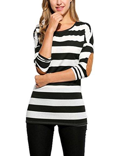 Womens Casual Raglan Sleeve T Shirt