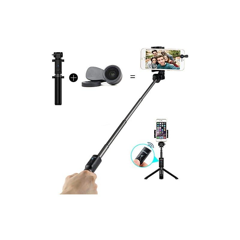 Bluetooth Selfie Stick Tripod with Remot