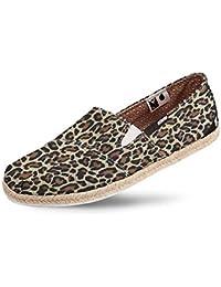 Alpargata Usthemp Corda Vegano Casual Estampa Leopard