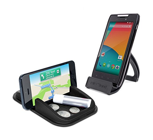 No Sticky adhesives and Leaves Behind no Residue Sticky Pad Roadster Mini Smartphone Dash Mount Removable and Reusable.