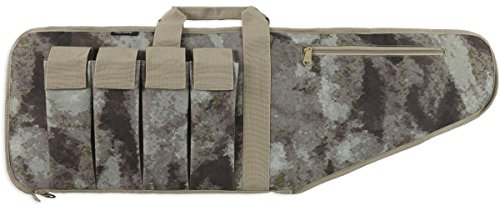 (Bulldog Cases Tactical Series Extreme Rifle Case Atacs AU Camo Camouflage, 38