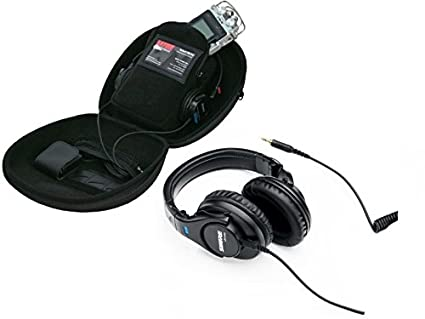 1933cd89625 Amazon.com: Shure SRH440 Professional Monitor Headphones with Gator  Recorder Case for Recorders, Headphones and Accessories: Musical Instruments