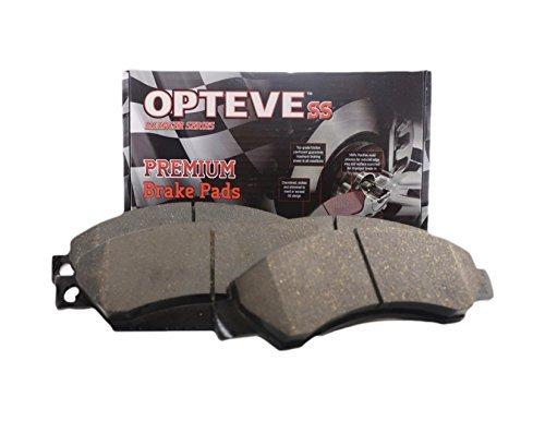 Opteve Brakes CDX815 Ceramic Brake Pads Front | Fits Infiniti G35; I30; I35; Nissan 350Z 2005-03; Altima 2013-02; Cube 2013-09; Juke 2013-11; Maxima 2003-00; Sentra 2013-07; Versa 2012-07